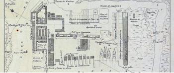 Jorge Juan y los Arsenales (3). Intervención de Jorge Juan en la Carraca - I. Construcción del arsenal